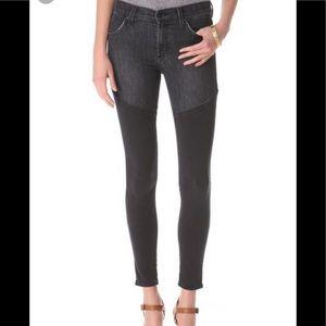 james jean twiggy faux boot skinny jeans